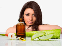 Natural body care Stock Photography