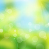 Natural bokeh background Royalty Free Stock Photography