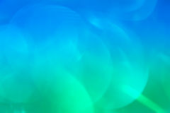 Natural bokeh on gradient background Royalty Free Stock Photo