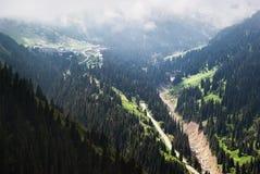Natural boundary Chimbulak, Kazakhstan Stock Photo