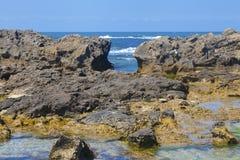 Natural breakwater Stock Photos