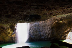 Natural Bridge. Or Arch in the Gold Coast Hinterland Stock Photography