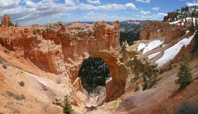 Natural Bridge. Formation - Bryce Canyon, Utah royalty free stock images