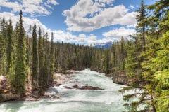 Natural Bridge area of  Yoho National Park, British Columbia, Canada. Stock Photography