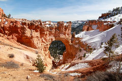 Natural Bridge in Bryce Canyon Stock Photo