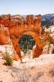 Natural Bridge, Bryce Canyon, Utah on sunshine Stock Photos