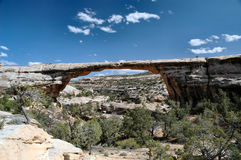 Natural Bridge National Park. One of the many natural Bridges in the Bridges National Park Royalty Free Stock Photo