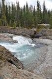 Natural Bridge outside of Banff, Canada stock photo