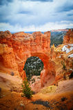 Natural Bridge Point in Bryce Canyon National Park Royalty Free Stock Photos