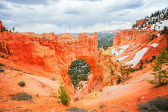 Natural Bridge Point in Bryce Canyon National Park Royalty Free Stock Image