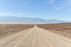 Natural Bridge Road, Badwater, Death Valley Royalty Free Stock Images