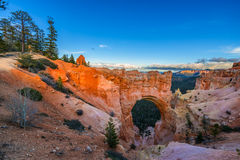 Natural Bridge at Sunset Bryce Canyon Stock Photos
