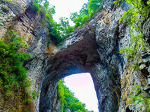 Natural Bridge 2 royalty free stock photo