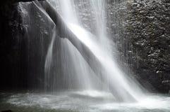 Natural Bridge Waterfall Royalty Free Stock Photography