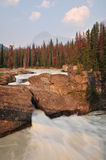 The Natural Bridge in Yoho National Park Stock Image