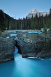 Natural Bridge in Yoho National Park Stock Photography