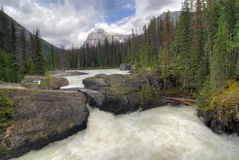 Natural Bridge, Yoho National Park Stock Image