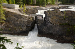 Natural Bridge in Yoho National Park Royalty Free Stock Photos