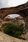 Natural Bridges National Monument in Utah. Royalty Free Stock Photos