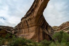 Natural Bridges National Monument in Utah. Amazing scenes from Natural Bridges National Monument in Utah Royalty Free Stock Images