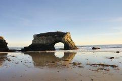Natural Bridges Park In Northern California Stock Images