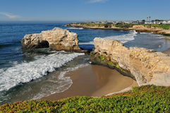 Natural Bridges State Beach Royalty Free Stock Photography