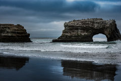 Natural Bridges State Beach Royalty Free Stock Photo
