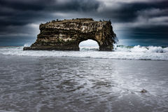 Natural Bridges State Beach Stock Image