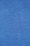 Natural Bright Blue Flax Fiber Linen Texture, Detailed Macro Royalty Free Stock Image