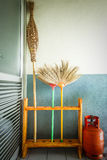 Natural brooms Royalty Free Stock Image