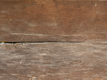 Natural brown barn wood wall. With huge horizontal planks Royalty Free Stock Images