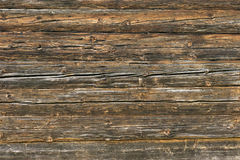 Natural Brown Barn Wood Wall. Wall Texture Background Pattern. Royalty Free Stock Images