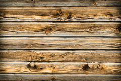 Natural brown barn wood wall. Wooden textured background pattern. stock images