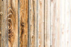 Natural brown barn wood wall. Wooden textured background pattern. royalty free stock image