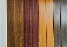 natural brown and blue polished and furnished wooden texture stock photo
