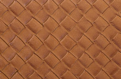 Natural brown leather texture Royalty Free Stock Image