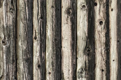 Natural brown log cabin wood wall. Wall texture background pattern. Wood planks, boards are old with a beautiful rustic look, style Stock Photography
