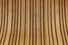 Natural brown old wooden board Royalty Free Stock Photography