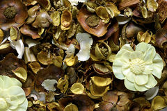 Natural brown potpourri Stock Image