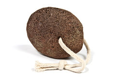 Natural brown pumice Stock Photography