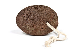 Natural brown pumice Stock Image