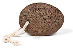 Natural brown pumice Royalty Free Stock Photo