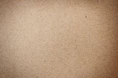 Natural brown recycled paper texture Stock Image