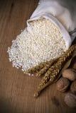 Natural brown rice Royalty Free Stock Image