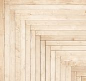 Natural brown wooden parquet herringbone. Wood texture. Royalty Free Stock Photo