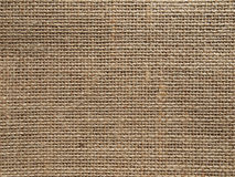 Natural burlap background Royalty Free Stock Image