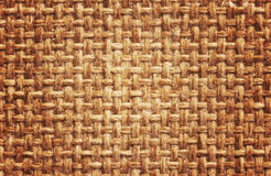 Natural burlap background Royalty Free Stock Photography