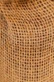 Natural burlap linen texture Royalty Free Stock Photo