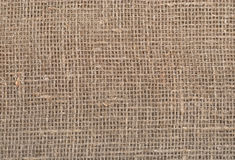 Natural burlap texture Stock Image