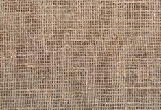 Natural burlap texture Stock Image